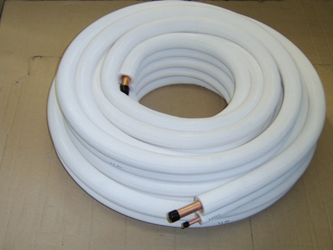 Pair Coil Insulation Copper Tube